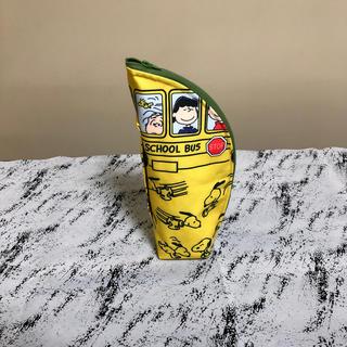 スヌーピー(SNOOPY)のハンドメイド ペットボトルケース500ml(スクールバススヌーピー)(雑貨)