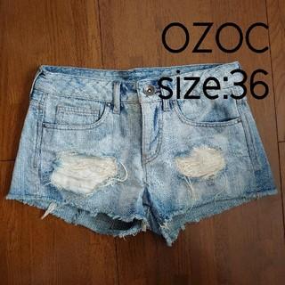 オゾック(OZOC)のデニムショートパンツ OZOC(ショートパンツ)