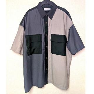 センスオブプレイスバイアーバンリサーチ(SENSE OF PLACE by URBAN RESEARCH)の3色切り替え半袖シャツ(シャツ)