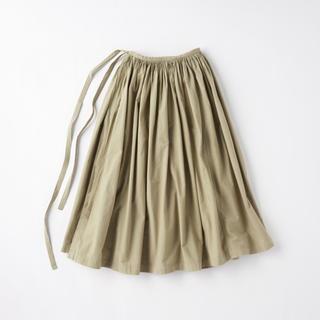 イデー(IDEE)の【新品】POOL いろいろの服 巻きギャザーエプロン(ロングスカート)