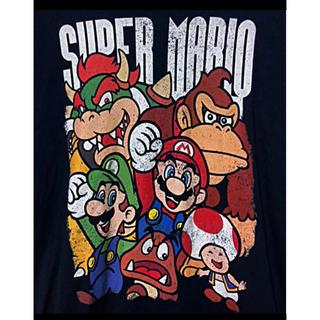 ニンテンドウ(任天堂)の【希少】Nintendo ニンテンドー スーパーマリオ Tシャツ 古着(Tシャツ/カットソー(半袖/袖なし))
