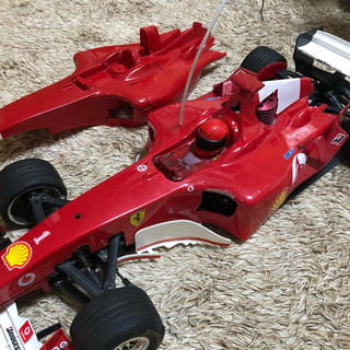 フェラーリ(Ferrari)のFerrari F1 ディアゴスティーニ チューニングパーツ多数(ホビーラジコン)