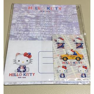 ハローキティ(ハローキティ)のハローキティ Hello kitty  NYバージョン レターセット(カード/レター/ラッピング)