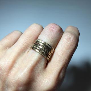 アッシュペーフランス(H.P.FRANCE)の ✨値下げ! IOSSELLIANI 6連リング✨(リング(指輪))