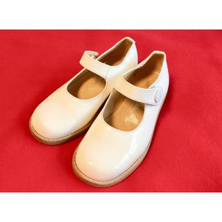 ミキハウス(mikihouse)のミキハウス 子供用 フォーマルシューズ  靴 サイズ17cm ホワイト  白(フォーマルシューズ)