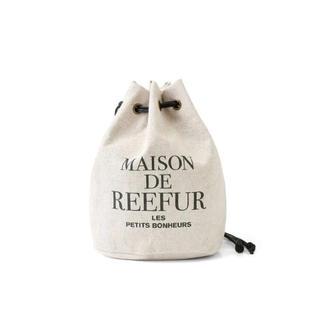メゾンドリーファー(Maison de Reefur)のMAISON DE REEFUR メゾンドリーファー 巾着バッグ(ハンドバッグ)