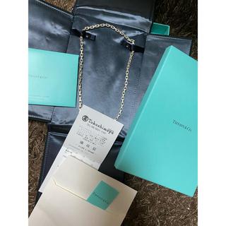 ティファニー(Tiffany & Co.)のtiffany tチェーン ネックレス(ネックレス)