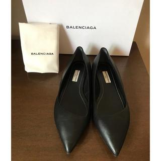 バレンシアガ(Balenciaga)のBALENCIAGA 新品未使用 フラットパンプス(ハイヒール/パンプス)