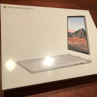 マイクロソフト(Microsoft)の【あっきー様専用】Microsoft Surface Book3(ノートPC)