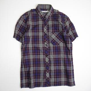 ジョンローレンスサリバン(JOHN LAWRENCE SULLIVAN)のJOHN LAWRENCE SULLIVAN サリバン 半袖チェックシャツ 34(シャツ)