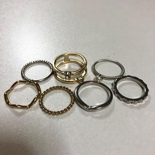 シマムラ(しまむら)のしまむら 指輪 7点(リング(指輪))