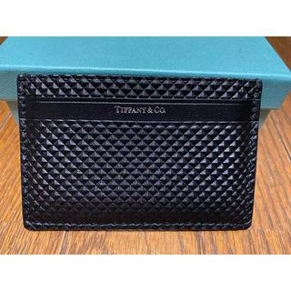 ティファニー(Tiffany & Co.)のTIFFANY&CO. カードケース(名刺入れ/定期入れ)