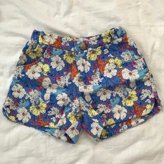 ZARA KIDS - Zara Girls 140 フラワー柄 ショートパンツ 女の子