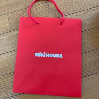 ミキハウス(mikihouse)のmiki house ショップ袋 紙袋(ショップ袋)