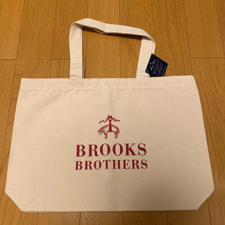 Brooks Brothers - 【タグ付き】BROOKS BROTHERS 大人気 トートバッグ 赤/白