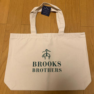 Brooks Brothers - 【タグ付き】BROOKS BROTHERS 大人気 トートバッグ 緑/白