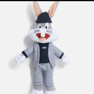 Kith x Looney Tunes Bugs Plush - Grey(その他)