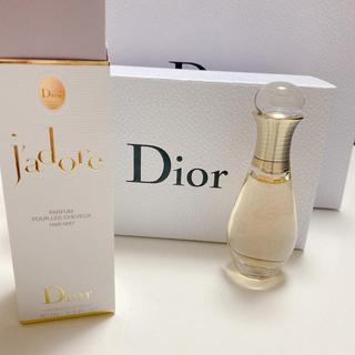 クリスチャンディオール(Christian Dior)の新品未使用 Dior jadore ヘアミスト40ml(ヘアウォーター/ヘアミスト)