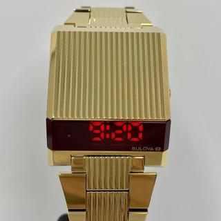 ブローバ(Bulova)の新品未使用 ブローバ BULOVA  ゴールド(腕時計(デジタル))
