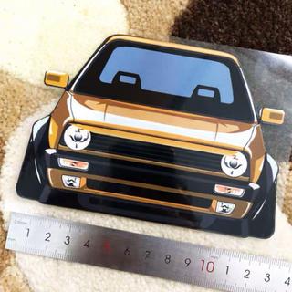 フォルクスワーゲン(Volkswagen)のVolkswagen GOLFⅡ  JettaⅡ  ステッカー gold(車外アクセサリ)
