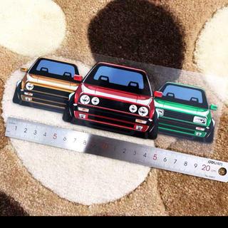 フォルクスワーゲン(Volkswagen)のフォルクスワーゲン ゴルフ ステッカー(車外アクセサリ)