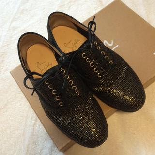 クリスチャンルブタン(Christian Louboutin)のルブタン フラットシューズ 21.5cm(ローファー/革靴)
