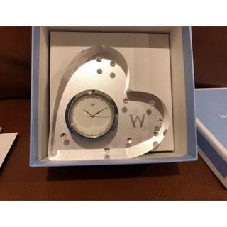 ウェッジウッド(WEDGWOOD)の【新品未使用】ブリスタイム クロック(置時計)