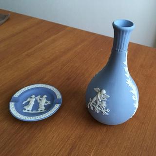 ウェッジウッド(WEDGWOOD)のWedgwood ウエッジウッド 花瓶と灰皿セット(花瓶)