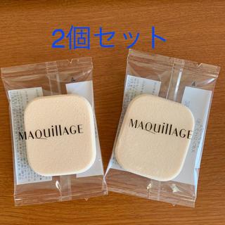 マキアージュ(MAQuillAGE)の☆マキアージュ スポンジパフ2個セット(パフ・スポンジ)