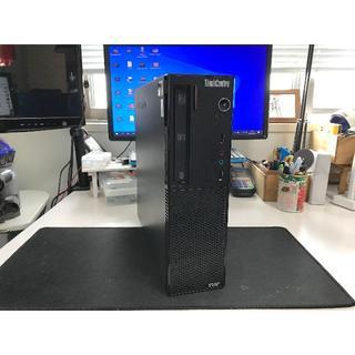 レノボ(Lenovo)のlenovo ThinkCentre A70 HDD 250GB 4GB(デスクトップ型PC)