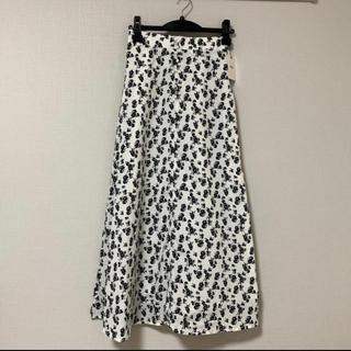 グレイル(GRL)のGRL✴︎花柄スカート(ロングスカート)