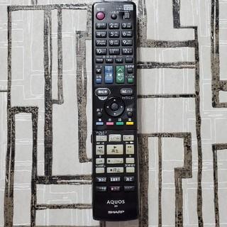 アクオス(AQUOS)のSHARP AQUOS リモコン  GB017PA 送料無料(DVDレコーダー)