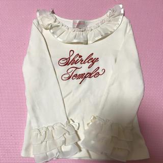 シャーリーテンプル(Shirley Temple)のフリル袖 ロンT シャーリーテンプル(Tシャツ/カットソー)