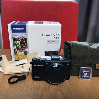 オリンパス(OLYMPUS)のOLYMPUS オリンパス XZ-1 美品・使用極少(コンパクトデジタルカメラ)