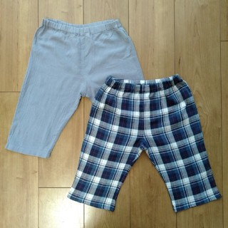 ムジルシリョウヒン(MUJI (無印良品))のステテコ 子供服 2枚セット(パジャマ)