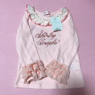 シャーリーテンプル(Shirley Temple)のフリル袖 シャーリーテンプル ロンT(Tシャツ/カットソー)