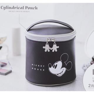 ミッキーマウス(ミッキーマウス)のスプリング付録 ミッキーマウス 筒型ポーチ(ポーチ)