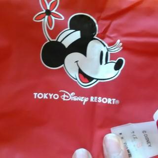 ディズニー(Disney)のディズニーランド ミニー ポンチョ Sサイズ(ポンチョ)