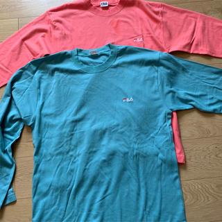 フィラ(FILA)のフィラ  ロングTシャツ L LL (Tシャツ(長袖/七分))