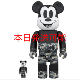 BE@RBRICK BAPE®️MICKEY MOUSE 100% & 400%(その他)