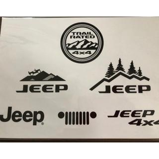 ジープ(Jeep)のjeep ステッカー 新品未使用(ノベルティグッズ)