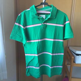 ボーダーポロシャツ(ポロシャツ)