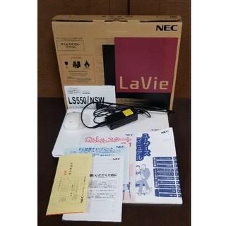 エヌイーシー(NEC)のNEC  ノートパソコン(ノートPC)
