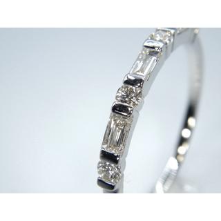 新品❗️K18WG ホワイトゴールド 0.26ct ダイヤモンド リング 指輪(リング(指輪))