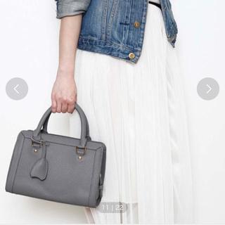 プレーンクロージング(PLAIN CLOTHING)の【美品】プレーンクロージング ハンドバッグ グレー(ハンドバッグ)