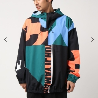 Y-3 - Y-3 M SWM AOP QUARTER-ZIP HOODED JACKET