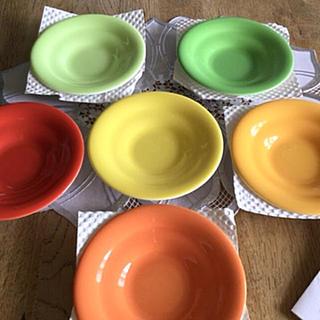ニッコー(NIKKO)の未使用/NIKKO カラフル茶托 6枚セット(食器)