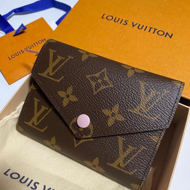 LOUIS VUITTON(ルイヴィトン)のルイヴィトン 新品 未使用 モノグラム⭐︎ローズ⭐︎超人気⭐︎ 財布 レディース レディースのファッション小物(財布)の商品写真