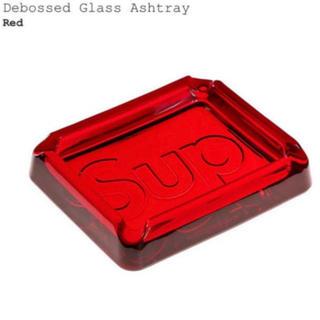 シュプリーム(Supreme)のSupreme Debossed Glass Ashtray  Red(灰皿)
