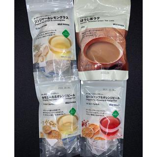 ムジルシリョウヒン(MUJI (無印良品))の無印良品お茶4点セット(茶)